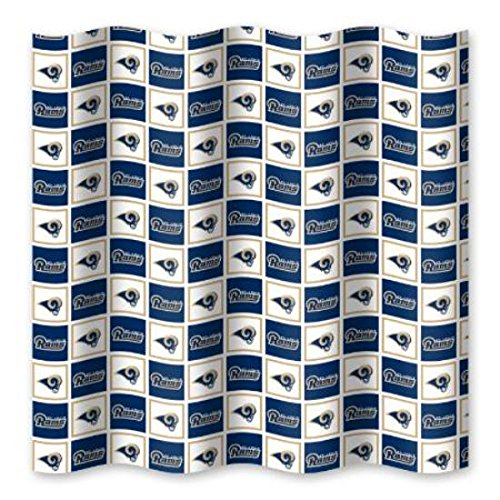 - The Northwest Company St. Louis Rams NFL Fabric Shower Curtain (72x72)