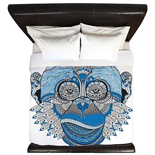Wholesale King Duvet Cover Chinese New Year Monkey 2016 Lucky Blue for cheap