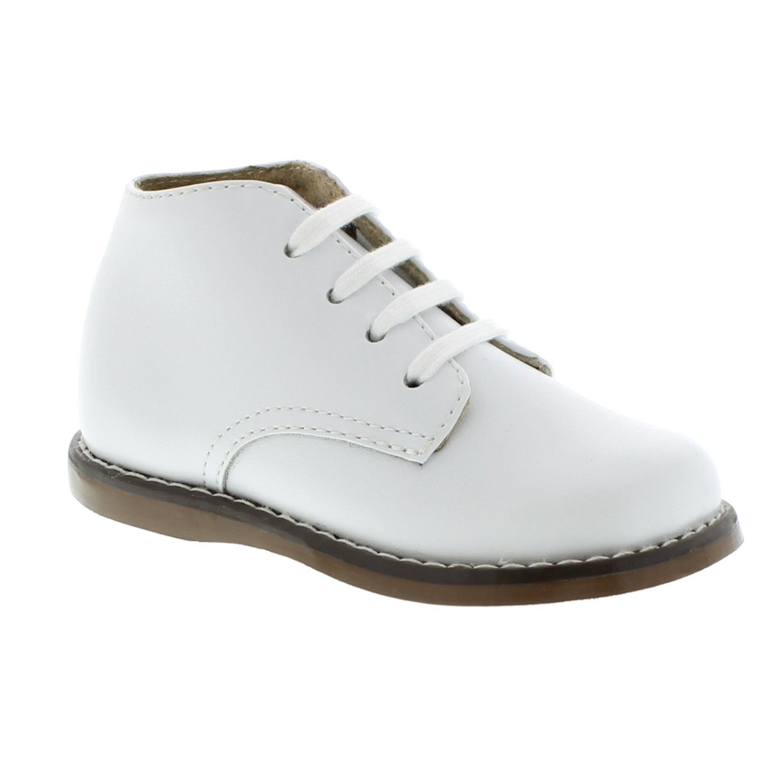 FootMates Unisex Todd 3 (Infant/Toddler) White Oxford 4 Toddler M/W by FOOTMATES (Image #3)