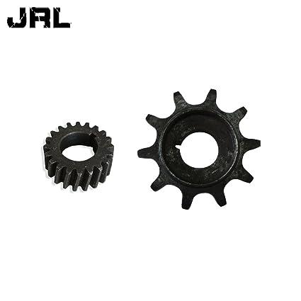 jrl 10tooth Gear embrague piñón 49 cc 66 cc 80 cc motor partes motorizado bicicleta