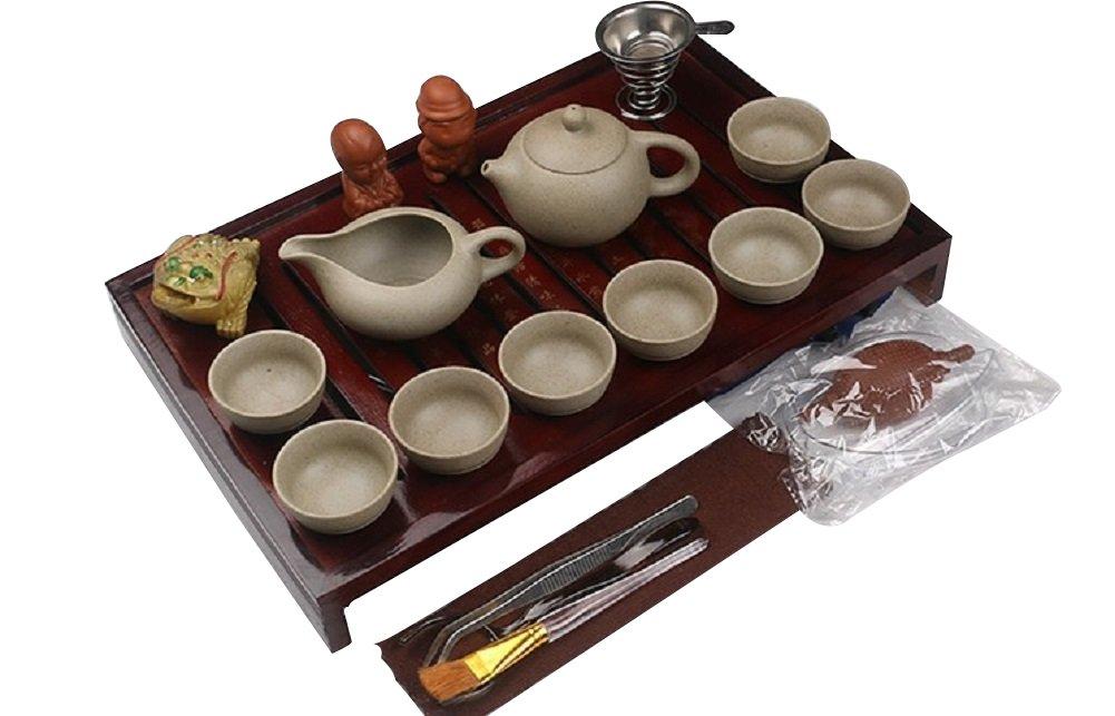Chinese Kongfu Tea Set (Crude Pottery)