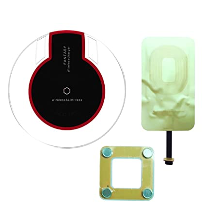 Amazon.com: Wireless Charger Kit Bundle con oro de 1 a Qi ...