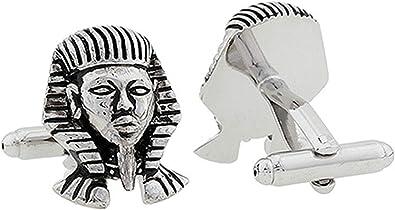 Aeici Gemelos Boda Novio Gemelos Camisa Hombre Boda Retrato de Africa Gemelo para Hombre Plata: Amazon.es: Joyería