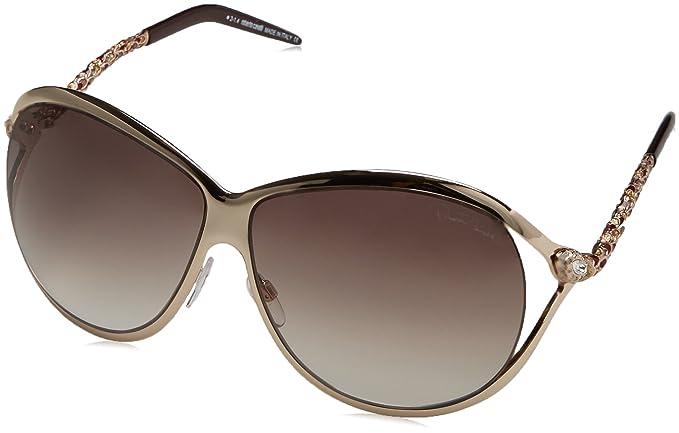 Roberto Cavalli RC854S Gafas de sol, Shiny Rose Gold, 65 ...