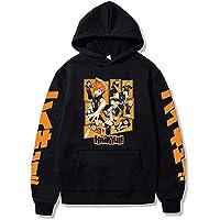 Sweet&rro17 Anime Haikyuu hoodie pullover, Karasuno print capuchontrui heren sweatshirt casual top