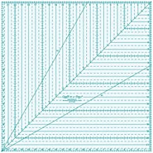 Quilt In A Day 22-Inch by 22-Inch Square Up Ruler