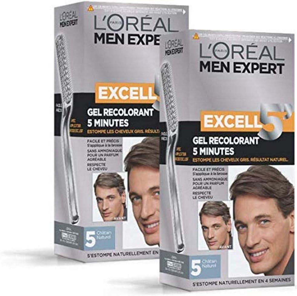 LOréal Men Expert Excell Tinte para hombre, Sin amoniaco ...