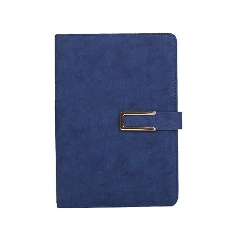Chakil 1pcs Cuaderno de Botones Páginas Negras Presentes ...