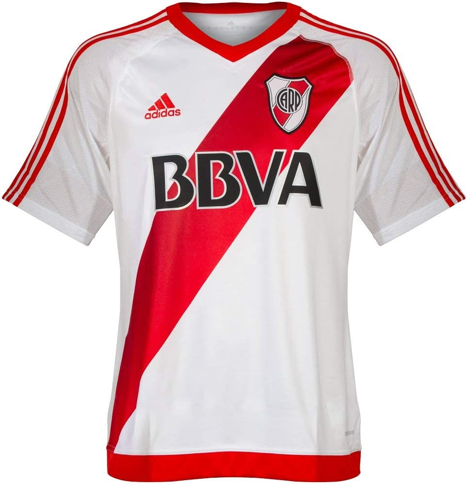 adidas Camiseta River Plate 1rd Home 2016/2017 (S): Amazon.es ...