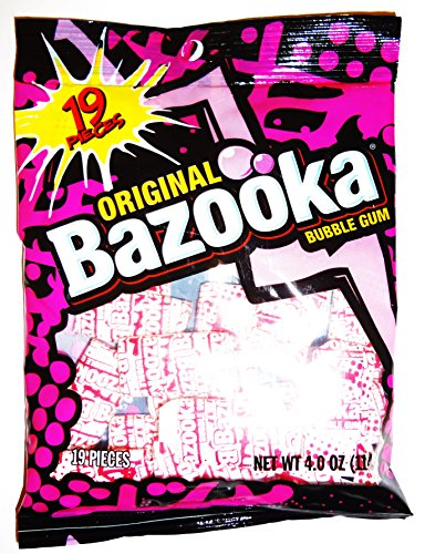 Bazooka Original Bubble Gum Piece