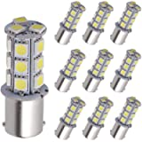 YITAMOTOR 1156 LED Bulb Cool White, 1156 1141 1003 BA15S RV Interior LED Replacement Light Bulb for Camper Car Truck, 18…