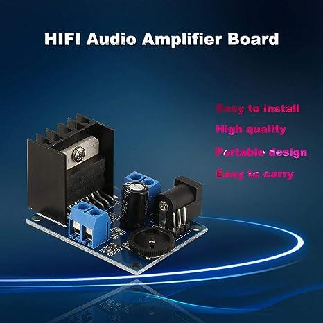 Tablero del amplificador TDA7266 audio de alta fidelidad de dos vías operacional amplificador audio del módulo