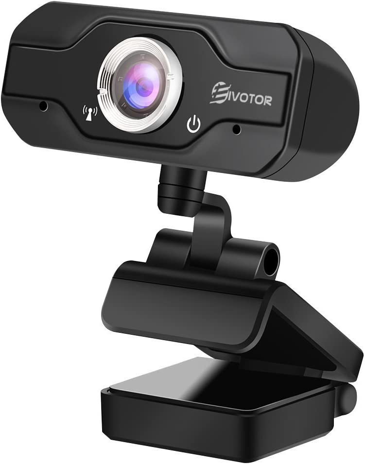 1080P Computer Camera Plug /& Play USB Webcam with Built-in Dual Microphone for Laptop Online Studying Video Calling Conferencing Recording and Streaming EIVOTOR Full HD webcam