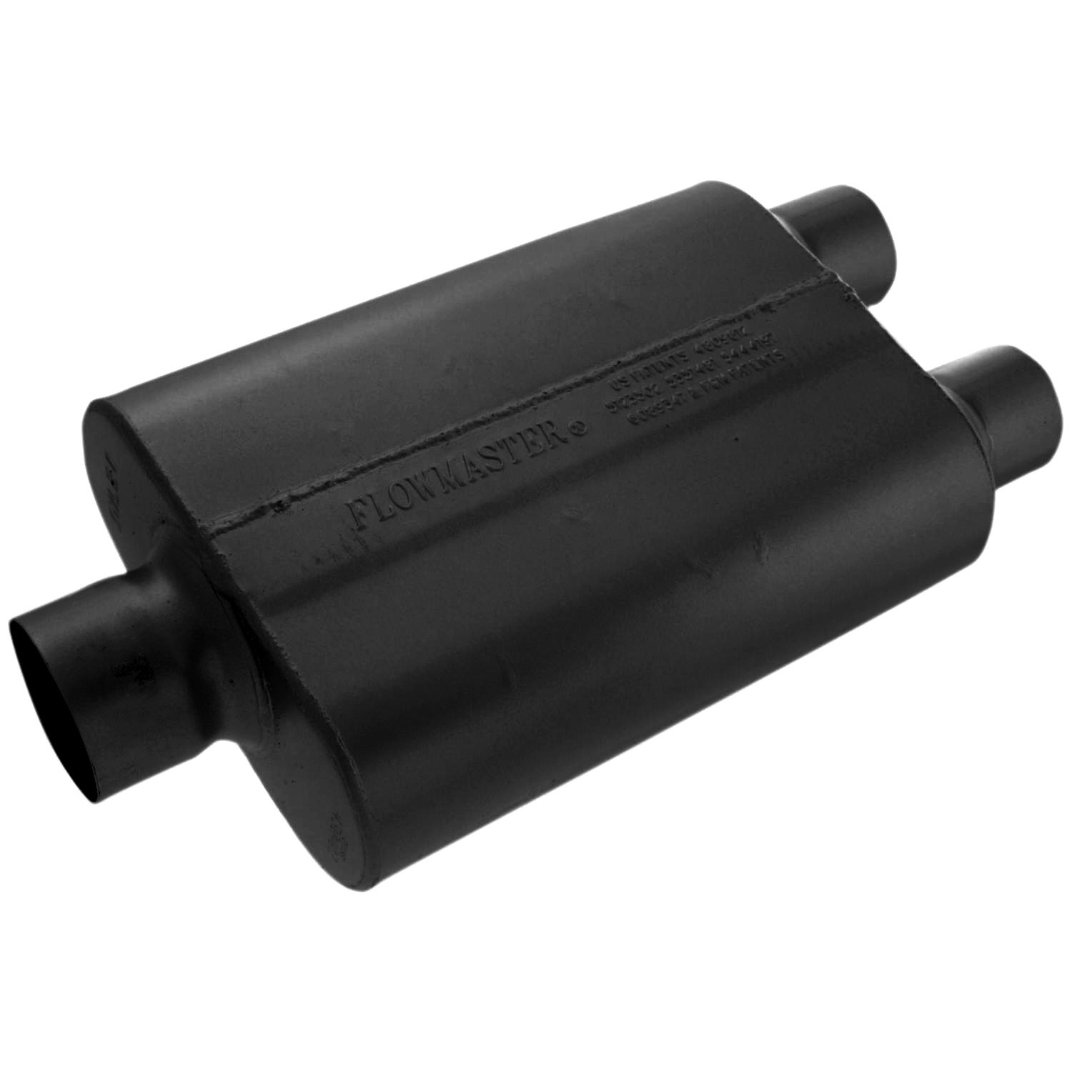 Flowmaster 430402 40 Series Muffler - 3.00 Center IN / 2.50 Dual OUT - Aggressive Sound by Flowmaster (Image #3)