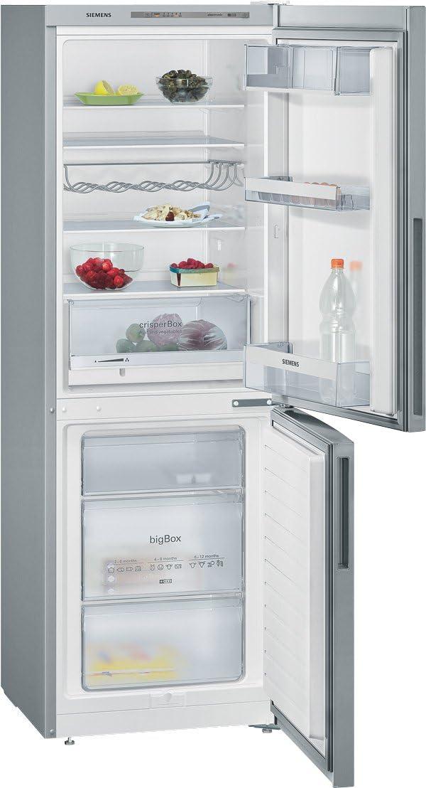 Siemens KG33VVL30 congeladora - Frigorífico (Independiente, Acero ...