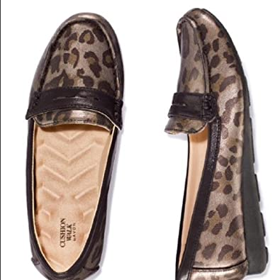 AVON Womens Cushion Walk, Jazzy Leopard Loafers, ...
