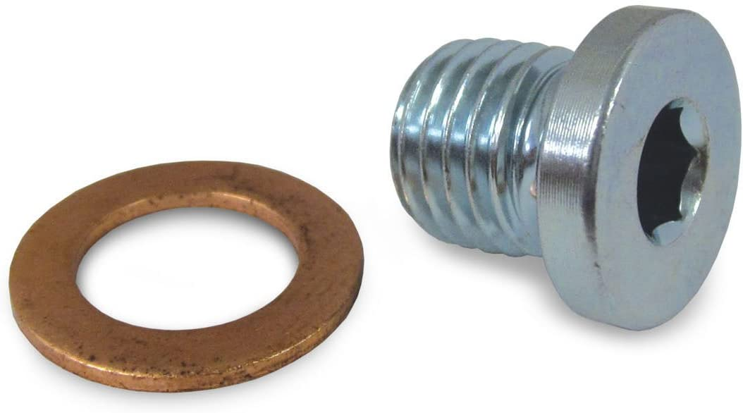 Polaris RZR Sportsman Ranger Crankcase Engine Oil Drain Plug and Washer 7052306