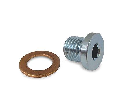 Polaris RZR 570 800 900 1000 Crankcase Engine Oil Drain Plug and Washer  7052306