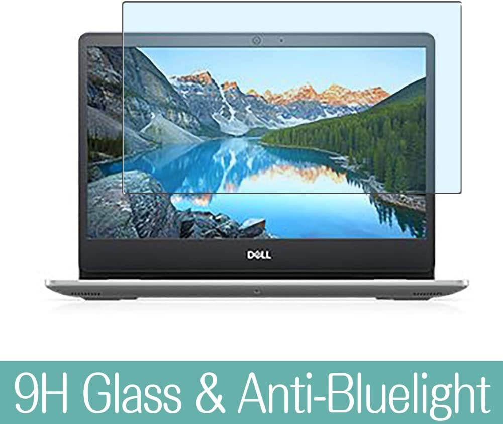 """Synvy Anti Blue Light Tempered Glass Screen Protector for Dell Inspiron 15 5000 (5493) 14"""" Visible Area 9H Protective Screen Film Protectors"""
