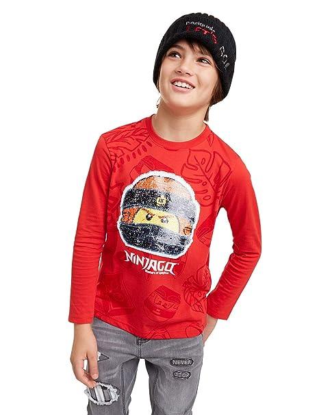 T Shirt Ninja Camiseta de Manga Larga
