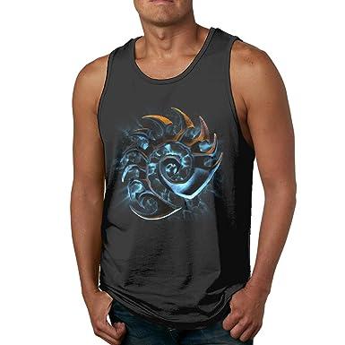 05c9ac4995493 Amazon.com: Eonfine Men Athletic Muscle Tank Top Starcraft Design T ...