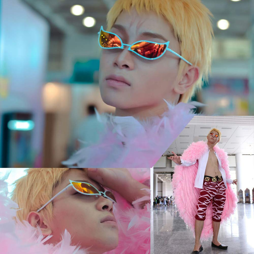 Mimgo Fashion Colorful Retro Round Framed Sunglasses Protection Goggles Outdoor Glasses