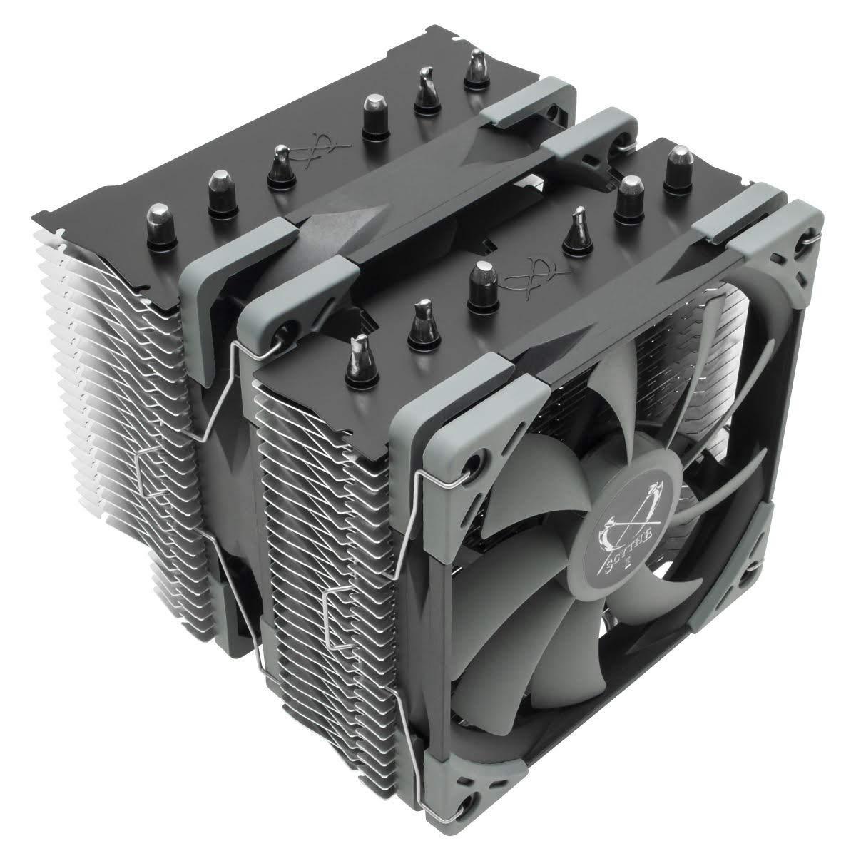CPU Cooler Scythe Fuma 2 Air Cooler Intel LGA1151 AMD AM4/Ry