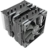 Scythe Fuma 2 120mm Air CPU Cooler, Intel LGA1151, AMD AM4/Ryzen, Dual Towers and Fans, Black Top Cover