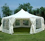 Quictent 29'x21′ Decagonal Party Wedding Tent Gazebo Canopy Heavy Duty Water Resistant Review