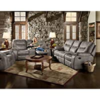 Cambridge Garrison Three Piece set: Sofa, Loveseat, Recliner Living Room Furniture Sets