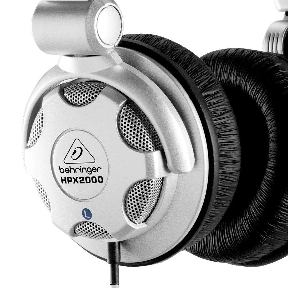 7bd0ee138ca Behringer Hpx2000 - High-Definition Dj Headphones: Amazon.co.uk: Musical  Instruments