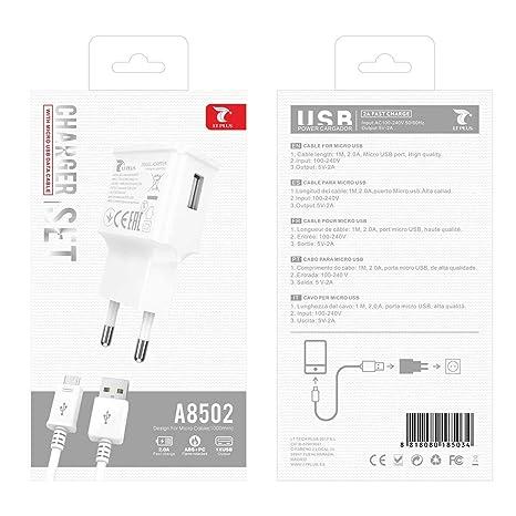 Todobarato24h LT Plus A8502 Cargador con Micro USB Cable 2.0 ...
