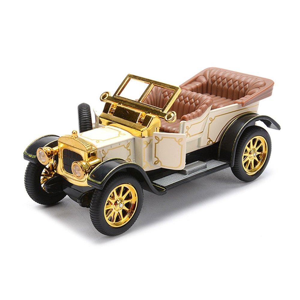 Amazon.com: Baidercor Diecast Cars Toys 1:32 Vintage Cars Cream Color: Toys  & Games