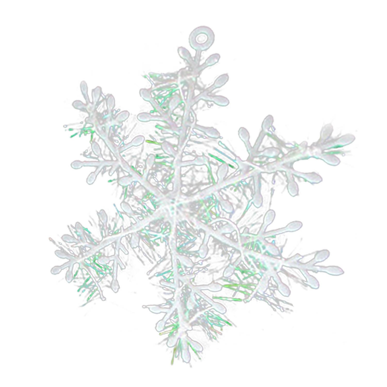 Pezzi Fiocchi Ornamenti Albero di Natale Decorazioni Natalizie Image 1
