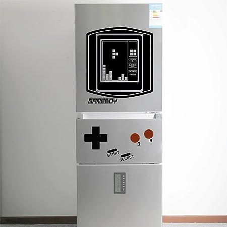 Retro Falling Blocks Boy para la nevera (Game Boy)-vinilo pared ...