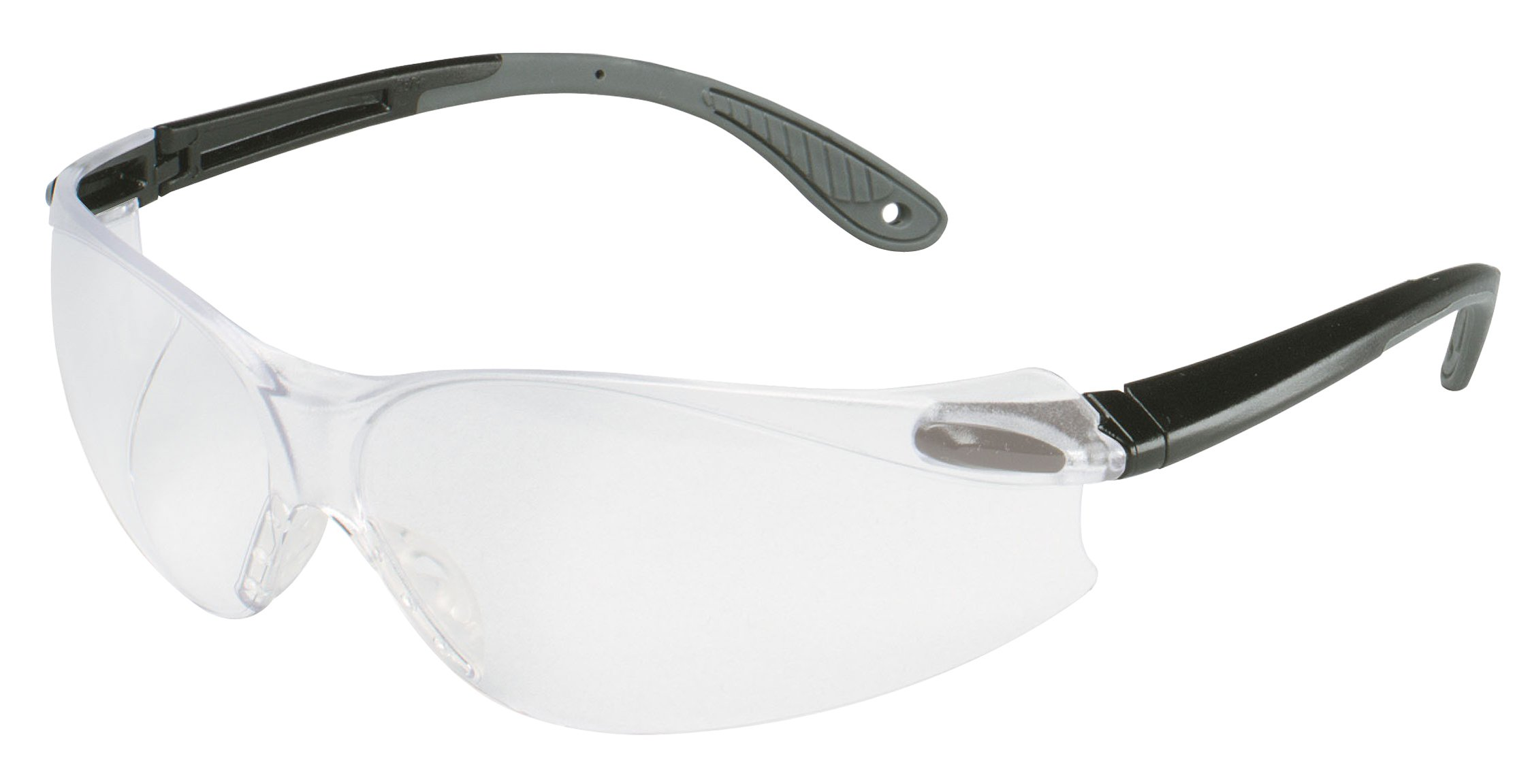 3M Virtua Protective Eyewear V4, 11672-00000-20 Clear Anti-Fog Lens, Black/Gray Temple (Pack of 20)