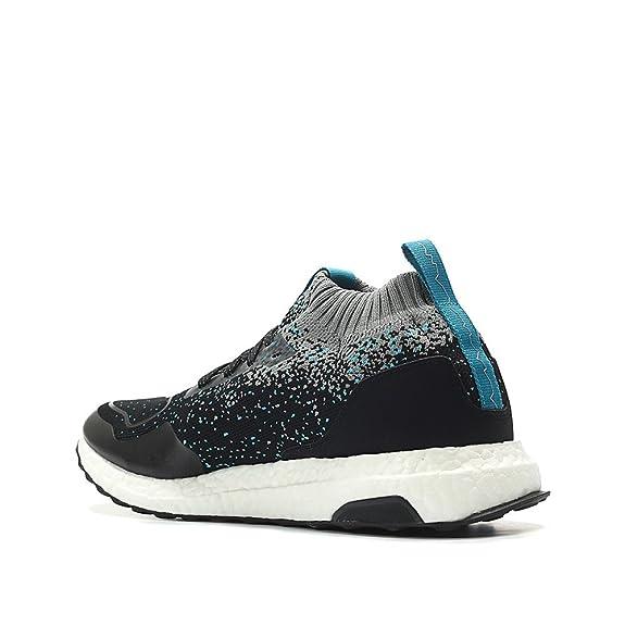 58cf3b5de1 Amazon.com | adidas Consortium x Packer x Solebox Men Ultraboost Mid  Sneaker Exchange (Black/core Black/Energy Blue) | Fashion Sneakers