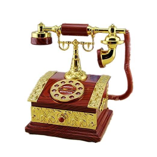 ZhongYi Caja de joyería clásica Transferencia casa teléfono octava ...