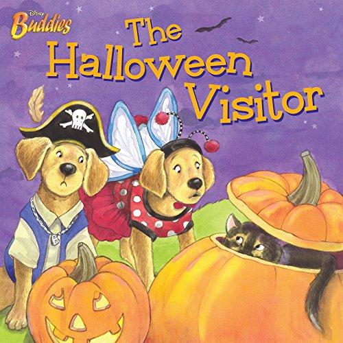 Disney Buddies:  The Halloween Visitor (Disney Storybook (eBook)) ()