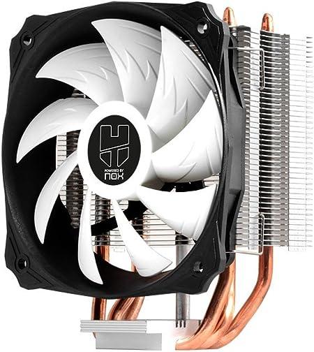 Oferta amazon: Nox Hummer H-212 - NXHUMMERH212 - Ventilador CPU 120 mm, PWM