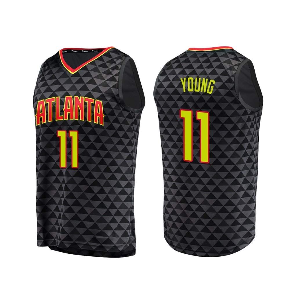 Mesh 2019 uSport Trae Young Altanta Hawks #11 Swingman Edition Jersey Sportswear Unisex Sleeveless TShirt