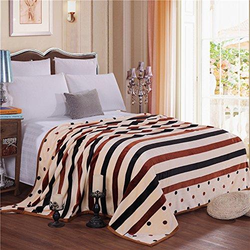 Luxury Collection Ultra Soft Plush Fleece Lightweight All-Season Throw/Bed (Jubilee Throw)