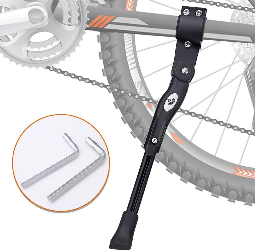 Shanqiu Pata de Cabra para Bicicleta, Aluminio Soporte Ajustable ...