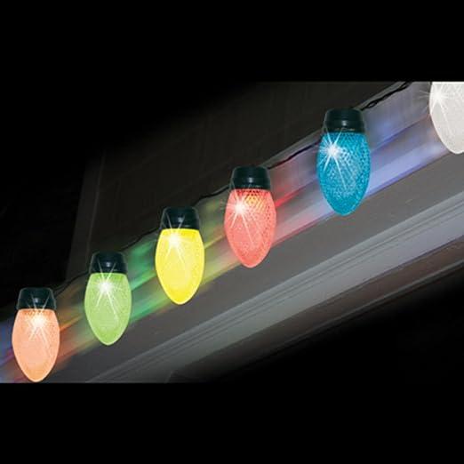 Amazon.com: Brite Star LED Color Changing Jumbo C9 Multicolored ...