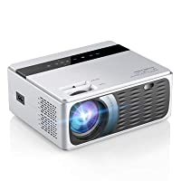 Deals on SAMMIX 5000 Lux 1080P LCD Movie Projector