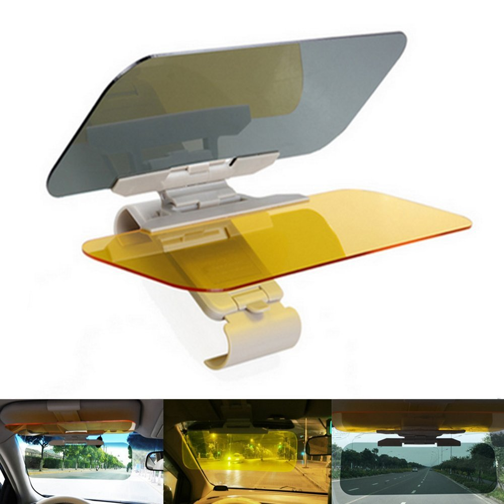 PINKOPINK Car Sun Visor Anti-UV Block Day and Night Non Glare Anti-Dazzle Sunshade Mirror Automobile Driver Goggles Shield
