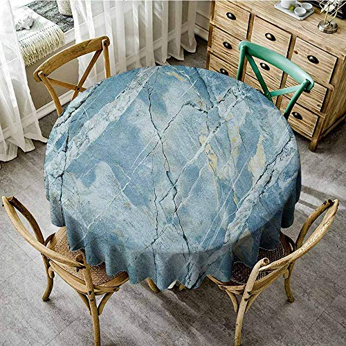 Rank-T Round Tablecloth White 40