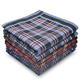 EcoHanky Men's Handkerchiefs 100% Soft Cotton 12-piece Set
