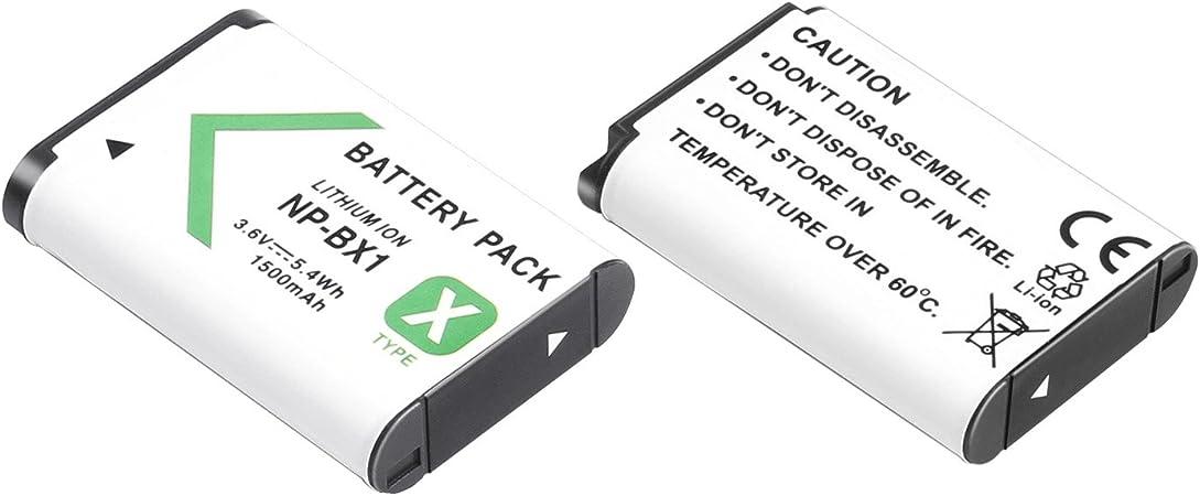 3x Batería 1000mAh para Sony Cybershot DSC-HX400 DSC-HX400V