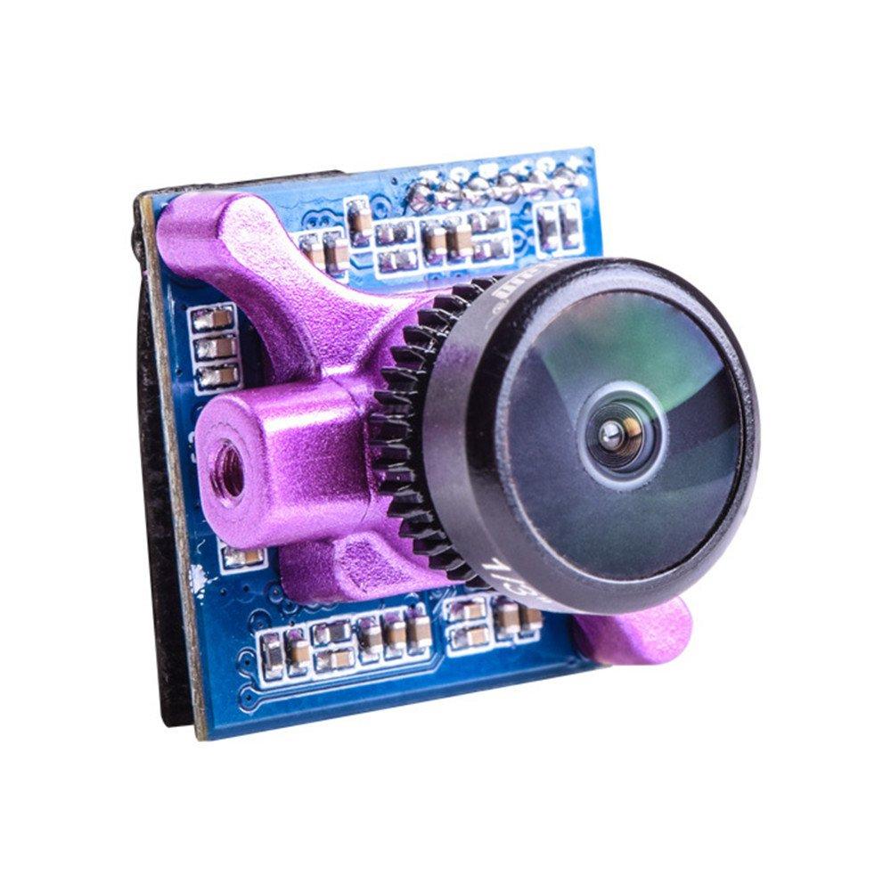 Crazepony RunCam Micro Sparrow 2 FPV Camera 700TVL Micro CMOS FPV Cam Super WDR OSD One Touch Scene Setting 4:3 for FPV Racing (NTSC)